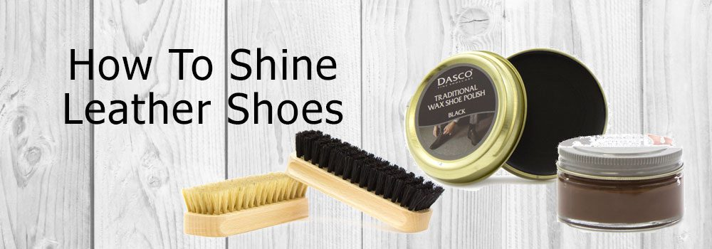 How to Shine Leather Shoes